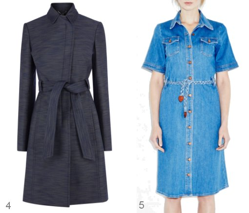 Karen millen denim dress