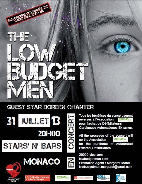 The Low Budget Men - Concert in Monaco