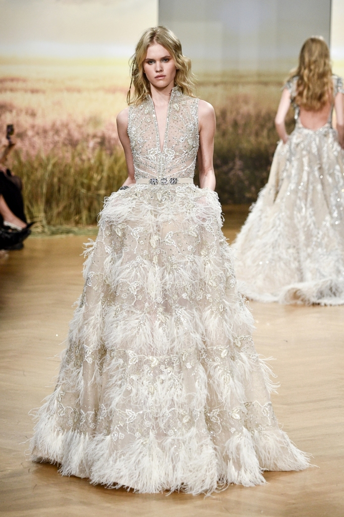 f7bf4a3d8ff Say  I do  with a Haute-Couture Wedding Dress by Ziad Nakad
